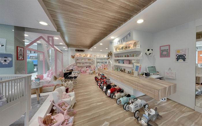 foto Interior da tenda infantil Chic&Kids deco. Acceso Street View