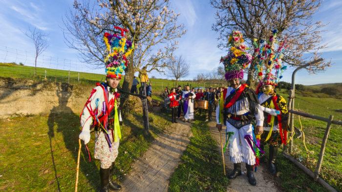 Portada da Visita virtual Entroidos de Ourense, Zamora e Portugal