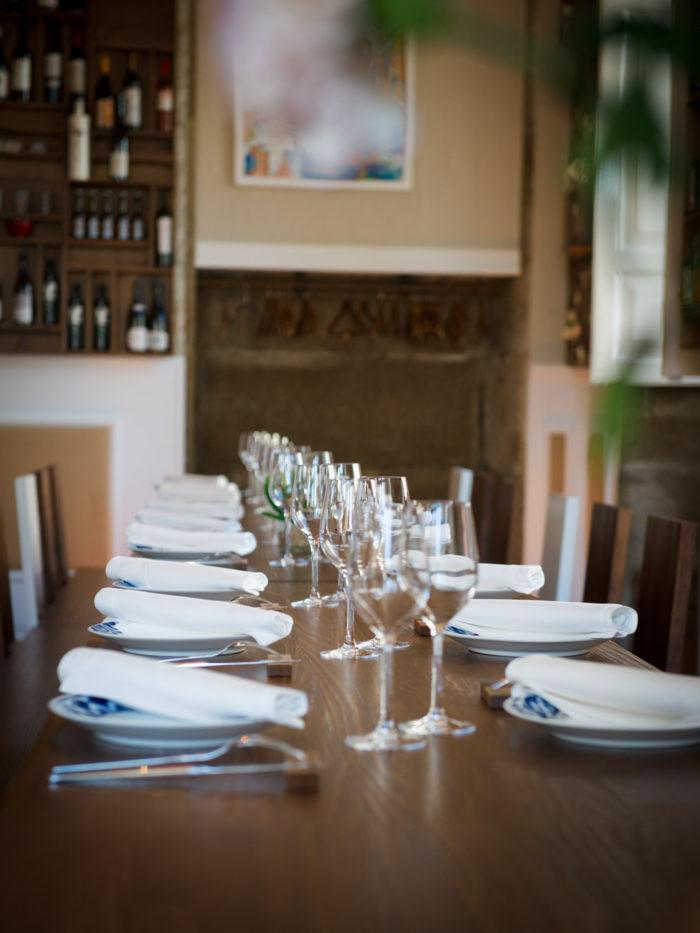 Mesa comedor restaurante Altamira