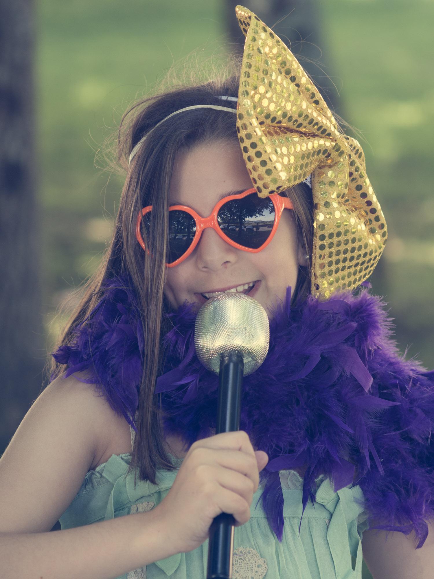 Reportaxe de comunión-Retrato infantil sesión photocall