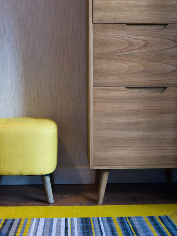 Detalle mobiliario Showroom Myka deco