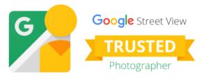 Logo fotógrafo de confianza de Google