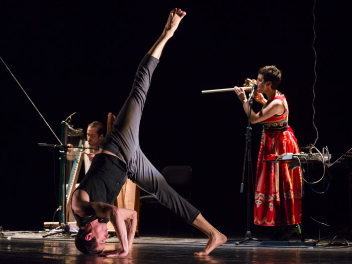 Concerto do grupo Raices aéreas no teatro Principal. Santiago de Compostela