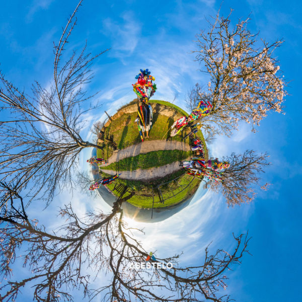 Little planet entroido de Manzaneda